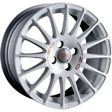 4x Alufelgen OZ Superturismo WRC 7x16 Zoll ET37 4x100 weiß 60,1