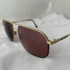 Vintage Mens Ysl Yves Saint Laurent Gold Eyeglass - Sunglasses Frames