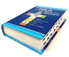La Biblia Catolica para Jovenes Pasta Dura Con Indices/Uñeros tamaño Mediano