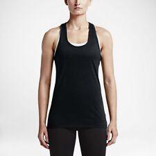 Nike Women's Sz XL - DRY TRAINING TANK TOP - Black 648567 010
