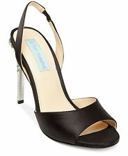 Blue by Betsey Johnson Naomi Slingback Evening Sandals Size 7 Black Retail $129