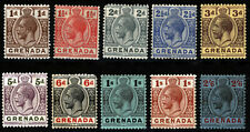 Grenada 1913-1929 KGV 1d to 2sh6d , SC 79-112 , Unsorted Bundle , MM & MNH