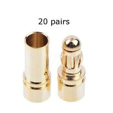 3.5mm Goldies 20 Pares-Excelente para los conectores de motor sin escobillas