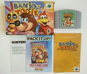 Banjo Tooie Nintendo 64 N64 Retro Video Game Complete In Box CIB Authentic Rare