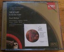 Mozart: Cosi Fan Tutte, Karl Bohm (Great Recordings of the Century CD, 2000)