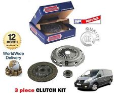 Para Fiat Scudo 1.6 D 90bhp 1560cc 9hu Motor Multijet 2007 -- & Gt 3 Piezas De Embrague Kit