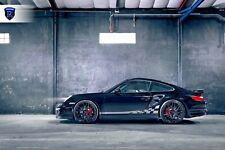 "20"" ROHANA RFX10 GLOSS BLACK WHEELS FOR PORSCHE 970 PANAMERA V6 S GTS TURBO"