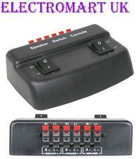 Par de altavoces estéreo de 2 Vías Interruptor Selector Divisor De Altavoz Caja 100W