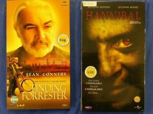 Hannibal VCD, + Finding Forrester VCD Video CD  with  Indonesian Subtitles