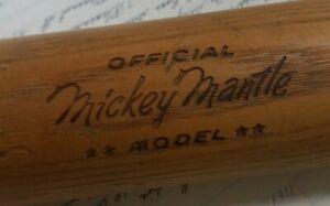 Hillerich & Bradsby Louisville 250 Kentucky Official Mickey Mantle Baseball Bat