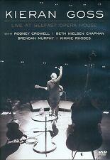 KIERAN GOSS LIVE AT BELFAST OPERA HOUSE DVD - WITH RODNEY CROWELL