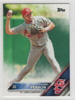 2016 Topps Baseball Saint Louis Cardinals Team Set
