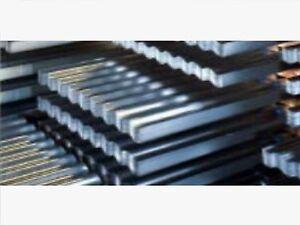 Corrugate Galvanised Steel Sheets Various Lengths