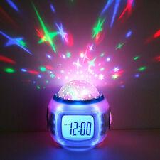 LED Starry Star. Sky Projection.Digital Music. Alarm Clock