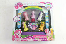 NEW My Little Pony Bathtub Finger Puppets Fluttershy Pinkie Pie Rarity Bubble