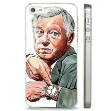 Sir Alex Ferguson Manchester United CLEAR PHONE CASE COVER fits iPHONE 5 6 7 8 X