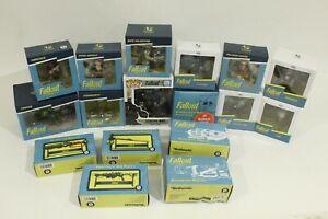 Fallout Display Figurines Lot: Loot Crate, 17pcs, Fawkes, Hancock, Danse ++