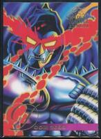 1995 Flair Marvel Annual Trading Card #105 Doom 2099