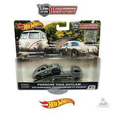 Hot Wheels Car Culture Team Transport Porsche Outlaw 356A Volkswagen T1 Pickup