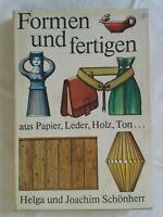 Mit Papier und Schere-Rudolf Arnold Verlag-DDR Bastelbuch
