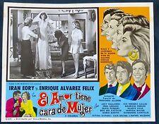 EL AMOR TIENE CARA DE MUJER IRAN EORY ENRIQUE ALVAREZ FELIZ LOBBY CARD PHOTO 73