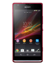Sony Xperia SP (Red, 8 GB) + 6 Months Manufacturer Warranty