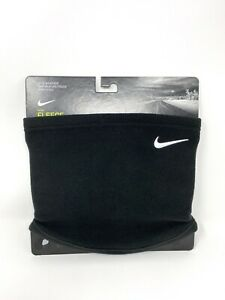 Nike Men's Fleece Black Neck Warmer - One Size - New with Tags!