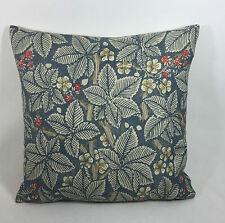 "William Morris Bramble Mineral/Slate Cushion Cover 17""x17""  Stunning Fabric"