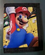 🔥 Super Mario Bros. Billfold Wallet  Bioworld Nintendo NEW Rare Design