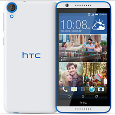 Dual card 5.5''HTC Desire 820 16GB Unlocked Android Cellphone White blue border