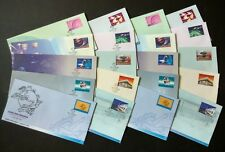1999 Malaysia World Post Day Souvenir Covers (Mint + Cancelled, total 20 covers)