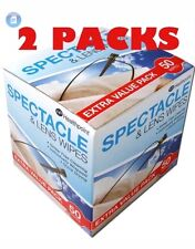 2 X 50 Healthpoint Spectacle And Lens Wipes Beauty Formulas & Glasses Sunglasses
