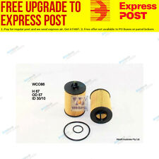Wesfil Oil Filter WCO86 fits Mercedes-Benz B-Class B 180 (W245),B 200 (W245)