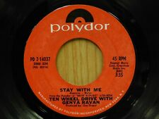 Ten Wheel Drive w Genya Ravan 45 Stay With Me bw Morning Much Better on Polydor