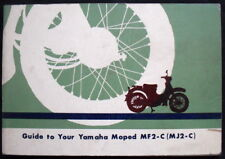 YAMAHA MOPED MF2-C (MJ2-C) 50CC MOTORCYCLE HANDBOOK/MANUAL UNDATED (USA)