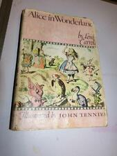 Alice in Wonderland and Through the Looking Glass - Illust Jr Library 1946 HBDJ