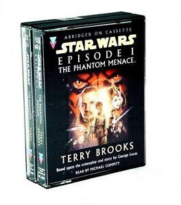 Star Wars The Phantom Menace: Episode I Abridged Audio Cassette LucasFilm 1999
