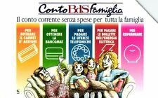 G 536 C&C 2596 SCHEDA TELEFONICA USATA BANCO DI SICILIA CONTO FAMIGLIA BDS