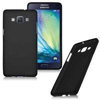 HandyHülle Samsung Galaxy S5 Silikon Schutz Hülle Tasche Case Schale SCHWARZ