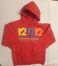 12 12 12 Concert For Sandy Relief Red Hoodie McCartney Springsteen Size Small
