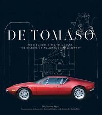 De Tomaso (Pantera Mangusta Vallelunga Longchamp Alejandro) Buch book DeTomaso