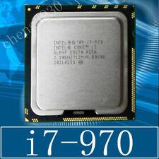 Intel Core i7 970 3.2GHz Six Core 12M 130W LGA 1366 CPU Processor
