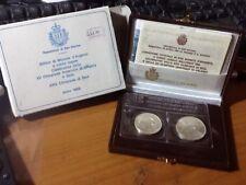 441m) 1988 SAN MARINO - DITTICO XXIV OLIMPIADI DI SEUL - FDC