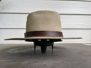 Vintage Resistol Antique Custom Clint Eastwood Cowboy Hat 7 3/8 Western Old West