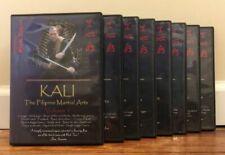 Kali Series (9) Dvd Set filipino martial arts abecedario stick dagger sarong