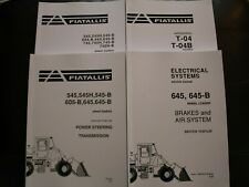 FIAT ALLIS 645B WHEEL LOADER REPAIR SERVICE WORKSHOP MANUAL FULL