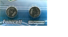 2 piles LR54 AG10 LR54 V10GA A389 LR1130 L1131 189 G10A G10-A L1131H 389A LR1131