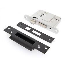 "Black 5 Lever British Standard Sash Lock - 3"""