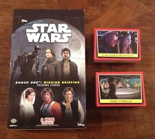 2016 Star Wars ROGUE ONE Mission Briefing Mini Master Set 189 Cards w/Box