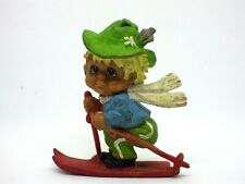 FIGURINE vintage Billy SKI-WM de 1978 Garmisch-Partenkirchen 5,5 cm